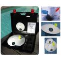 Maletin detector de fugas en piscinas