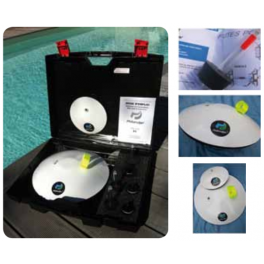 Maletin detector de fugas Philandjer para piscinas