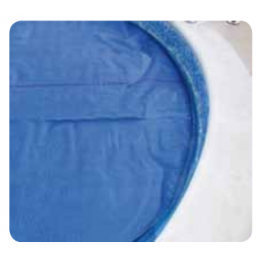 Cubierta / cobertor termica solar (burbujas) piscinas