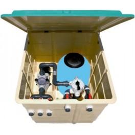 Caseta depuradora piscinas completa filtro + bomba Kripsol
