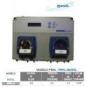 Panel dosificacion compacto control redox y ph Kripsol