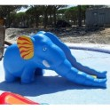 Tobogan elefante parque infantiles
