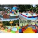 Piscinas prefabricadas parque infantiles, camping