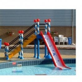 Torre con tobogan para parque infantiles