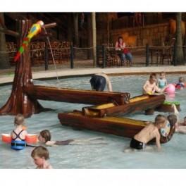 Figuras estilo bambu parque infantiles